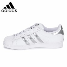цена на Adidas Superstar Original New Arrival Women Skateboarding Shoes Leisure Sports Outdoor Sneakers #AQ3091