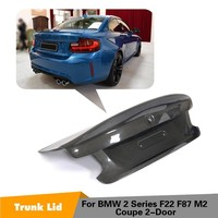 Carbon Fiber Rear Trunk Spoiler Boot Wing Lip For BMW F22 F87 M2 Base Coupe M Sport 2Door 2014 2018