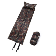 Camping Mat Outdoor Folding Mat Automatic Inflatable Camping Mat Mattress Self-Inflating Moistureproof Tent Pad With Pillow P20 цена