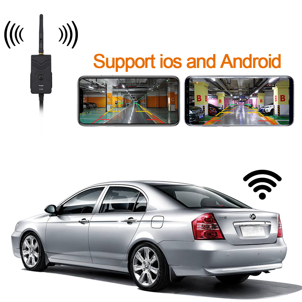 New Arrival!!! WIFI Transmitter For Wireless Car Rear View Reverse Camera For IPhone And Android Mobile Phone