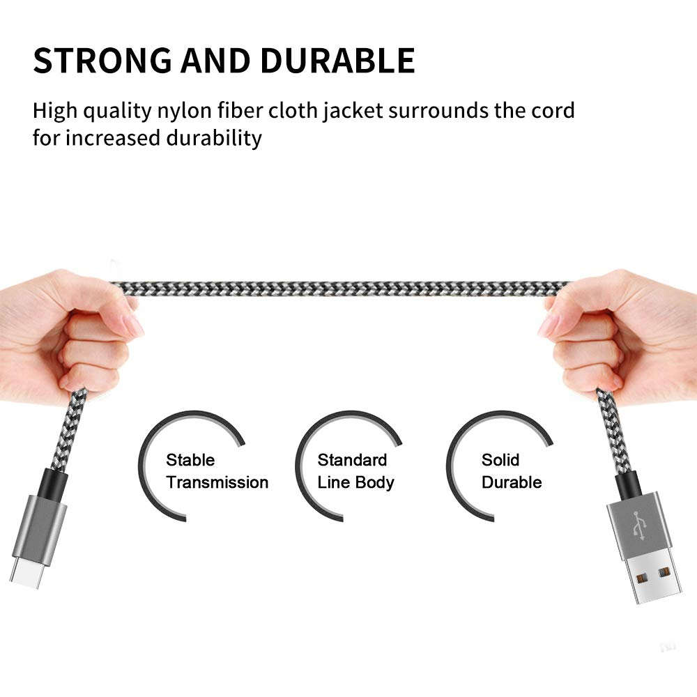 Image 3 - Type C USB Cable 3.0A Fast Charging Type C usb Charger Cord For Samsung S9 S8 Plus Huawei Honor 10 9 lite Tablet Phone Type C-in Mobile Phone Cables from Cellphones & Telecommunications