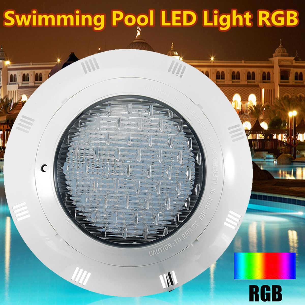 Led Lighting Remote Control Lights & Lighting Rgb Led Swimming Pool Underrwater Led Light 18/25/35/45/54/60/72w 7 Color Wall Mounted Pond Lighting