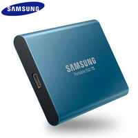 Samsung External Ssd T5 250gb 500g 1t 2t External Solid State Hd Hard Drive Usb 3.1 Gen2 (10gbps) And Backward Compatible For Pc