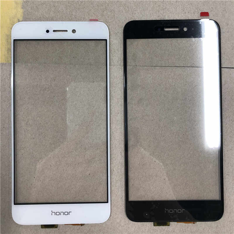 Écran tactile pour Huawei P8 Lite 2017 couverture en verre avant LCD écran d'affichage panneau extérieur lentille numériseur capteur pièces de réparation
