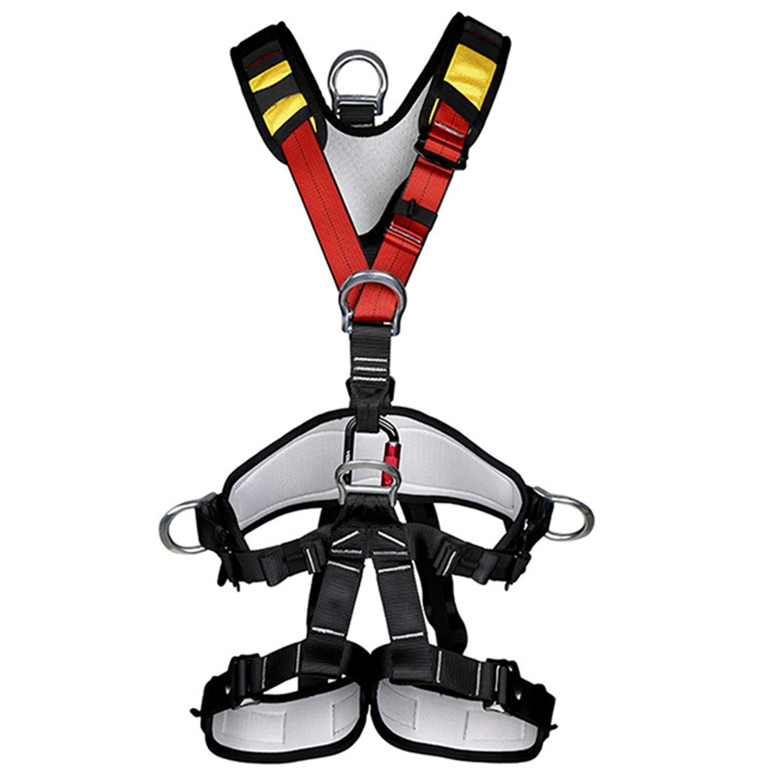Escalade en plein air accessoires d'alpinisme en rappel ceinture de sécurité pour le corps
