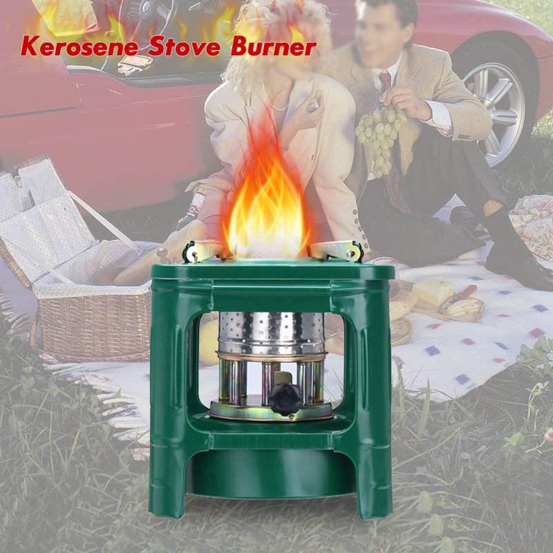 Bbq-Heaters Kerosene Picnic Small Burner Stove Furnace Wicks Cooking Handy Outdoor Mini