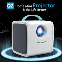 Baby Tell A Story Toy Projector Mini Portable 1080P Full HD 30 Lumens Education TV Luminous Toys School Teaching Beamer Props