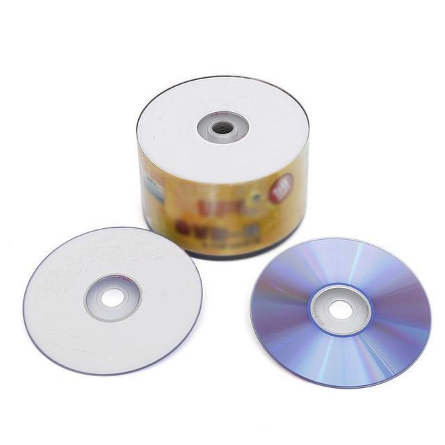 50 cái/lốc DVD-R 16X Trống Đĩa 4.7 GB 120 Phút Có Thể In Ghi Âm Đĩa với Khả Năng Tương Thích Tốt