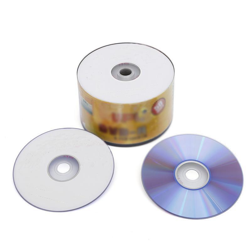 Externer Speicher 50 Teile/los Dvd-r 16x Blank Disc 4,7 Gb 120 Minuten Druckbare Aufnahme Disc Mit Gute Kompatibilität Computer & Büro
