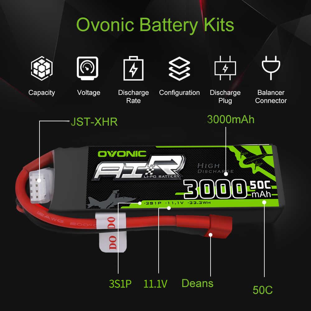 Ovonic 8000 Mah 4500 Mah 5500 Mah 3000 Mah 2200 Mah 1500 Mah 50C 6S 4S 3S 2S Lipo Batterij Voor Rc Heli Quad Vliegtuigen Auto Boot