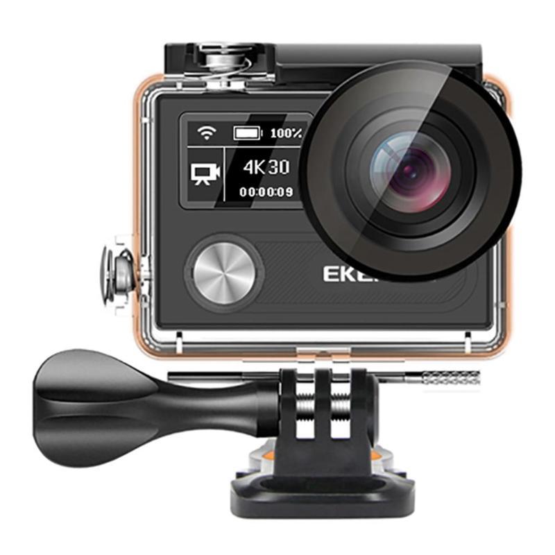 EKEN H8R Ultra HD 4 k 30FPS WIFI Camera Action 30 m Étanche 2.0 Pouces 14MP 1080 p 60fps DVR sous-marine Extreme pro Sport Caméra