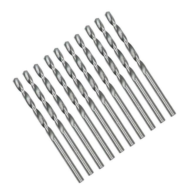 40Pcs Titanium Coated Drill Bits HSS High Speed Steel Drill Bits Set Tool 0.5-2.0mm HSS Power Tools