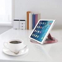 durable aluminum alloy Universal Desktop Tablet Holder Mount Phone Holder Aluminum Alloy Round Stand Durable For IPad Pro Adjustable #1122 (4)