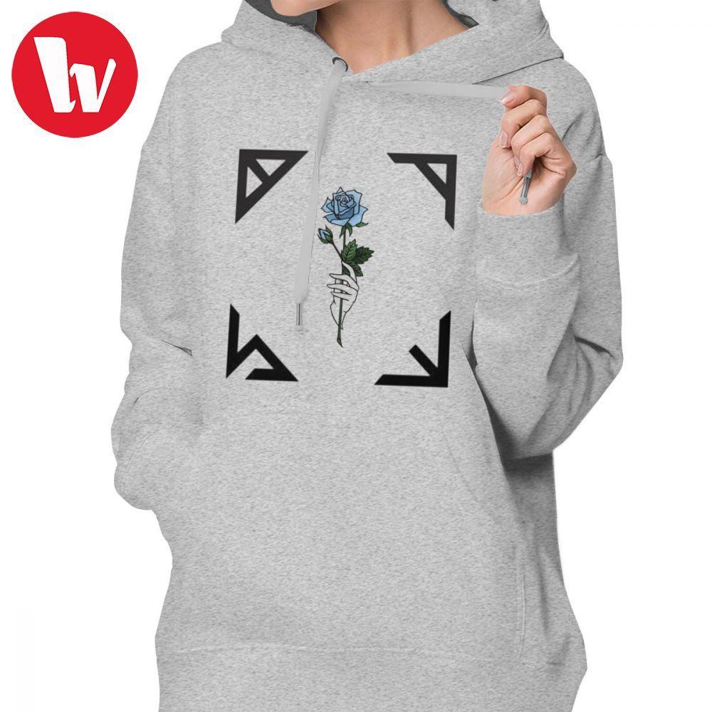59a69fca68c SHINEE Album Hoodie Jonghyun Base SHINEE Hoodies Trendy Graphic Hoodies  Women Black Cotton Street wear Pullover Hoodie