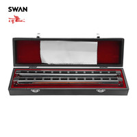 Swan SW48HX High End 48 Sets Chord Harmonica In Gift Box Accompaniment Musical Instrument Woodwind Instruments Swan Harmonica