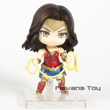 DC Comics Wonder Woman 818 Nendoroid PVC Action Figure Collection Model Toys Doll Figurine
