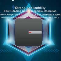 Lector inalámbrico impermeable Eseye WG26/34 lector de tarjetas IC RFID lectores de proximidad 125 KHZ/13,56 MHZ ID IC para sistema de Control de acceso
