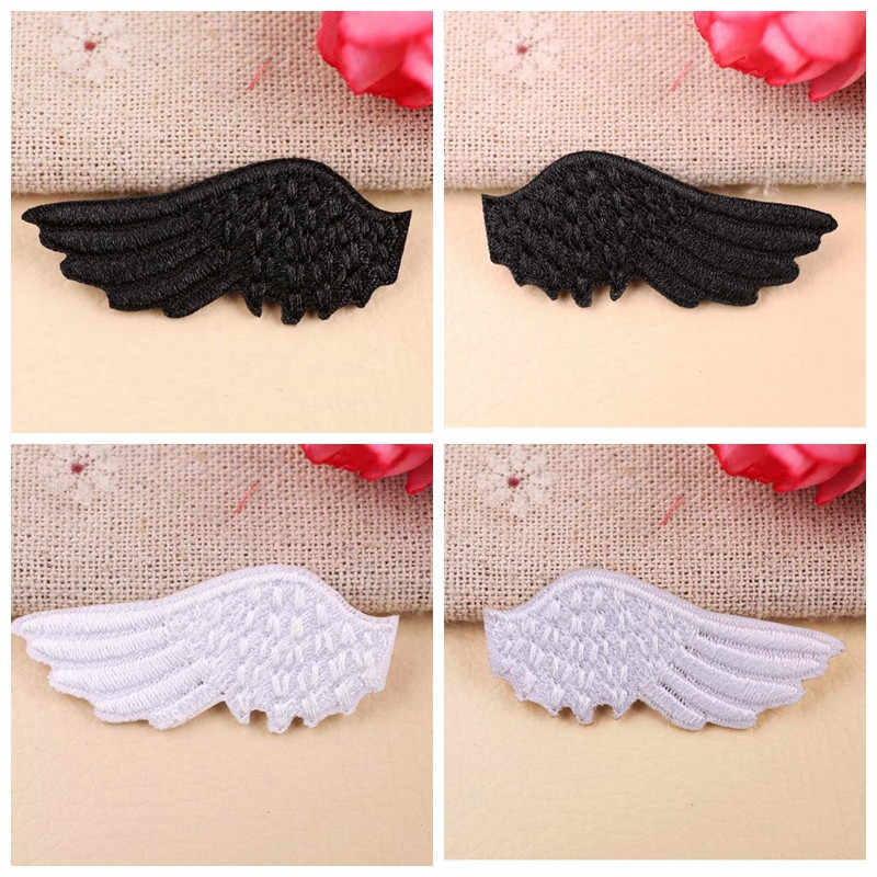 Children Cartoon Angel wings Sewing Patch T-Shirt  Adhesive  Applique Embroidery Patch DIY Clothing Accessory Backpack Patches