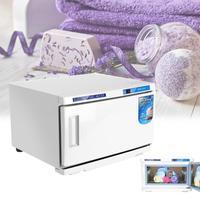 Hot Facial Towel Warmer UV Sterilizer 16L Cabinet Disinfection Beauty Salon Spa Heating Sterilizer Storage Towel