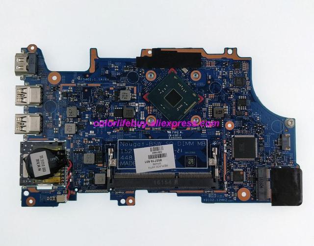 Оригинальный ПК 855718 601 855718 001 UMA w PentN3710 материнская плата с процессором для ноутбука для HP Pavilion x360 14 a 15 a 11 u Series