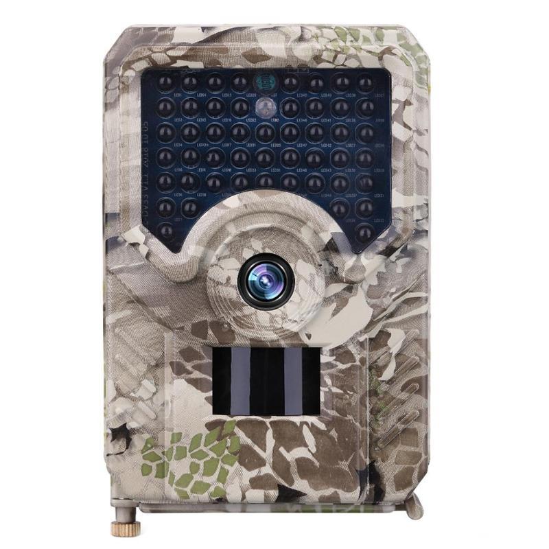 Caméra de chasse PR200 12MP 49 pièces 940nm IR LED caméra de chasse IP56 étanche 18650 batterie caméra sauvage Vision nocturne
