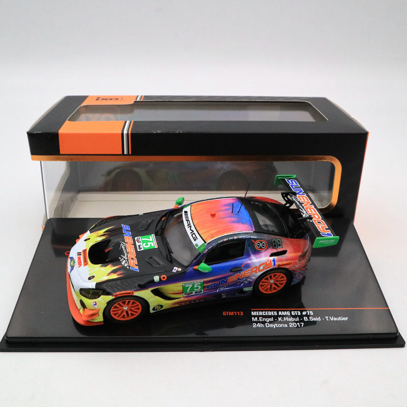IXO 1 43 MERCEDES AMG GT3 75 24 H Daytona 2017 GTM113 Limited Edition Collection Toys