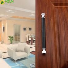 128mm Silver Black Fashion Modern Furniture Handles Kitchen Cabinet Drawer Pull Knob 5 Chrome Dresser Door