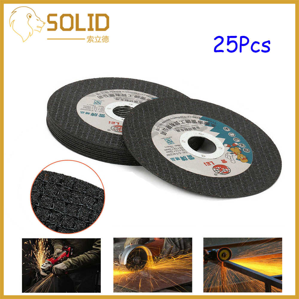 5Pcs 5 Inch Resin Cutting Disc Metal Cut Off Wheel Angle Grinder For Rotary Tool
