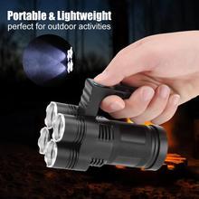 Портативный светодиодный фонарик Troch водонепроницаемый супер яркий подводный фонарик 4