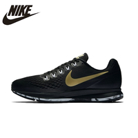 NIKE AIR ZOOM PEGASUS 34 мужские кроссовки с дышащей сеткой стабильность поддержка Открытый Спортивные кроссовки обувь #880555