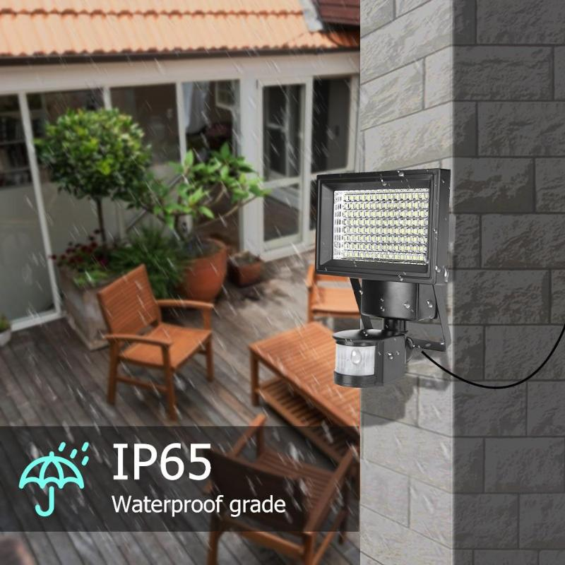 120 diodo emissor de luz solar wall mounted 03