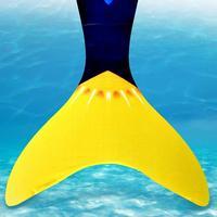1Pcs Swimming Fin Monofin Mermaid Flippers Diving Scuba Swim Fins Foot Flippers Kids Monofin Underwater Sports Training Shoes