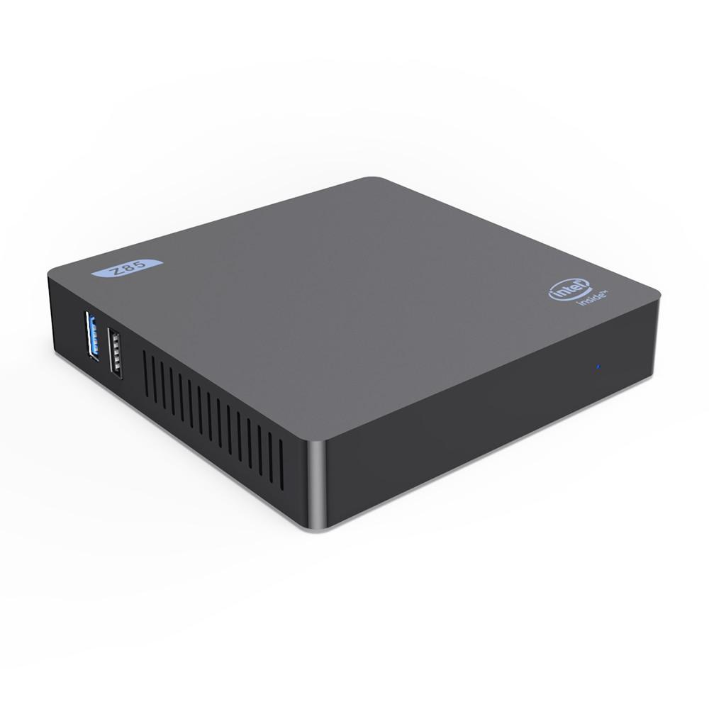 Beelink Z85 Mini PC Smart TV Box Intel Atom X5-Z8350 Quad Core 2.4G 5G BT4.0 1000M Lan Wifi Set Win10 EU Plug
