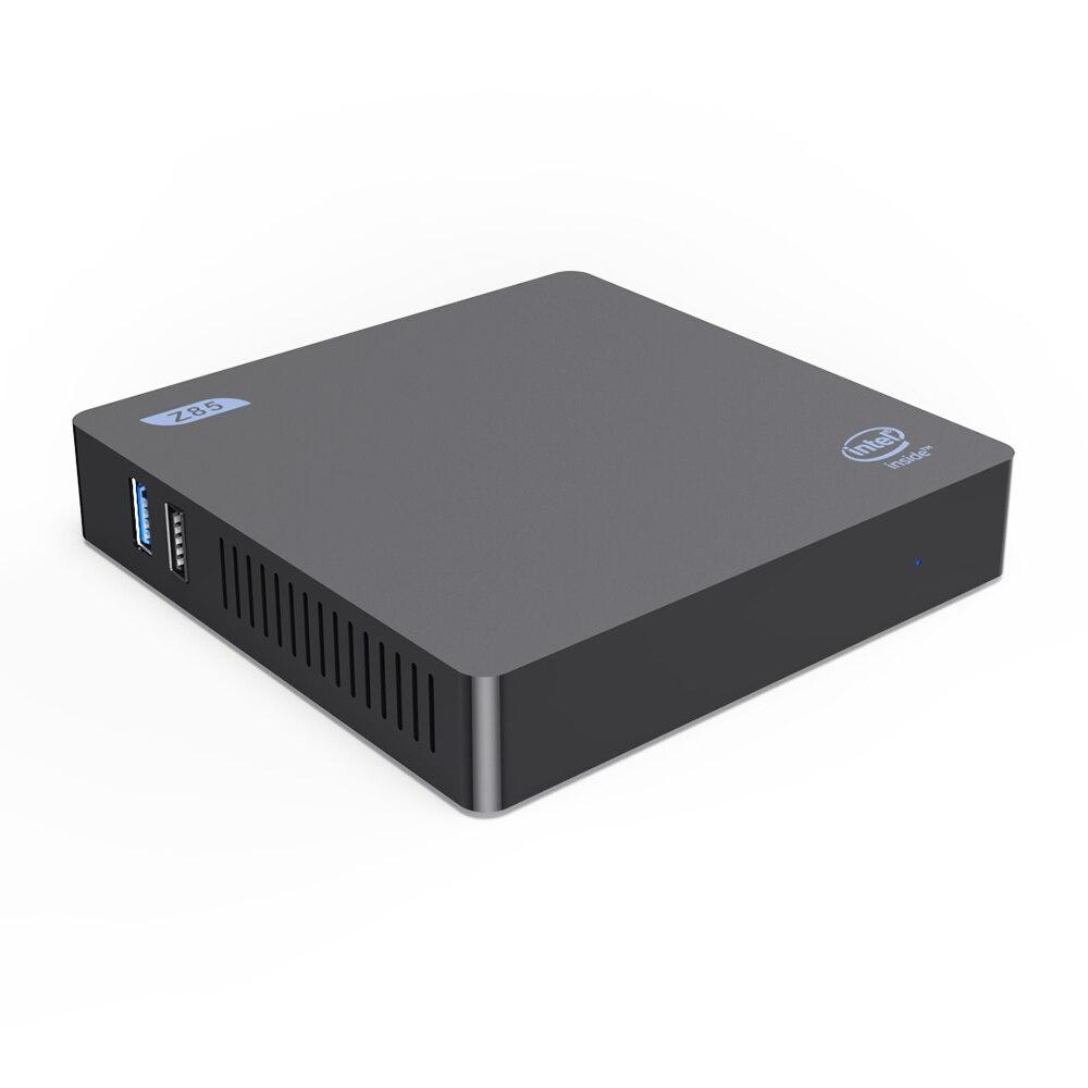 Beelink Z85 Mini PC Smart TV Box Intel Atom X5-Z8350 Quad Core 2.4G 5G BT4.0 1000 M Lan wifi Ensemble Win10 UE Plug