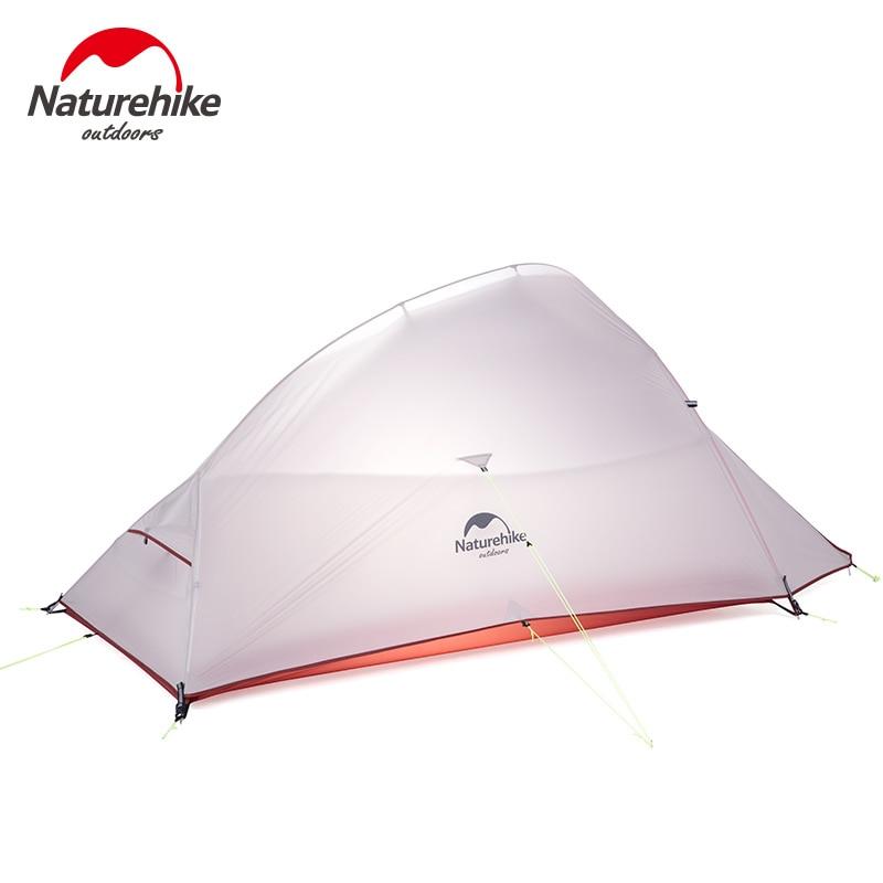 Naturehike 2019 新アップグレード CloudUp 2 超軽量テント自立 20D 生地のキャンプのテント 2 人送料無料でマット  グループ上の スポーツ & エンターテイメント からの テント の中 1