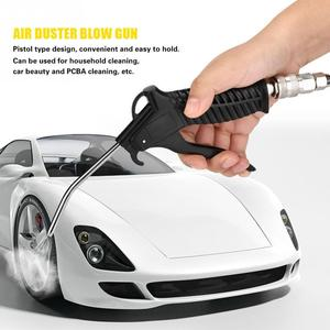 Image 5 - Portable Air Duster Blow Gun Strong Air Compressor Gun Pneumatic Wind Blowing Airbrush Car Cleaning Sprayer Dust Removing Tools