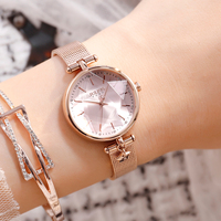 Julius Clock Women Watch Stainless Steel Watches Ladies Fashion Casual Watch Quartz Wristwatch