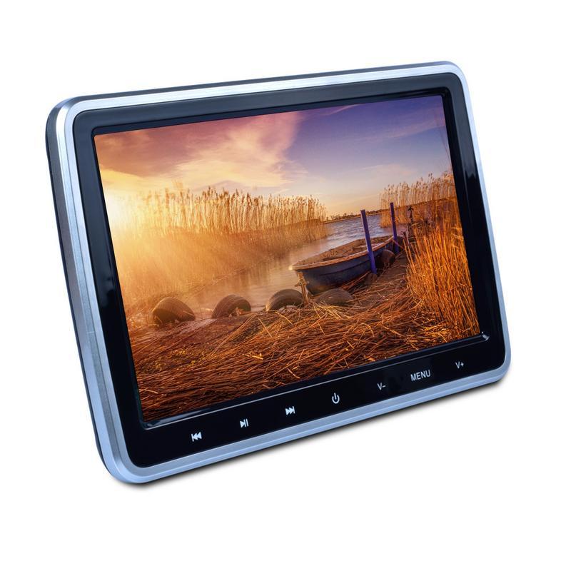 10.1 pouces 1024*600 voiture MP5 lecteur multimédia voiture DVD appuie-tête moniteur multimédia TFT LCD écran région lecteur DVD gratuit