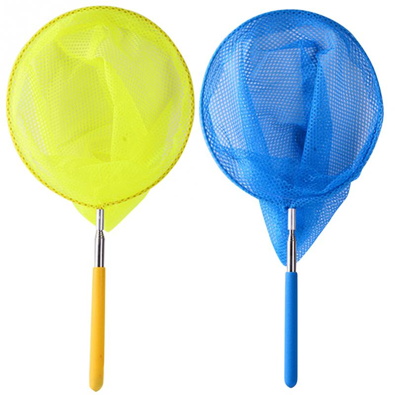 2Pcs/Set Retractable Insect Bugs Catching Net Fishing Butterfly Mesh Colored Kids Toy Insect Catcher Garden Playing Net #15