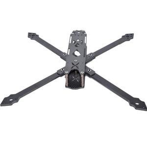 Image 3 - Shark X9 342 Mm Wielbasis 4 Mm Arm 9 Inch 158G Carbon Fiber Frame Kit Voor Rc Modellen Spare deel Diy Accessoires