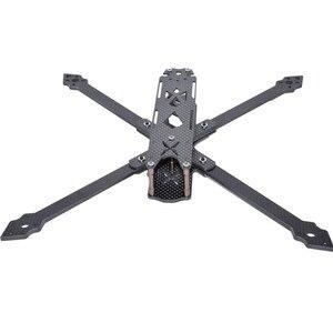 Image 3 - Shark x9 342mm distância entre eixos 4mm braço 9 Polegada 158g kit quadro de fibra carbono para rc modelos peças reposição diy acessórios