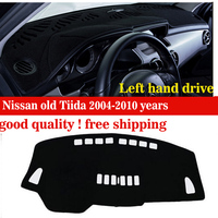 Car dashboard covers pad For Nissan old Tiida 2004 2010 years Instrument platform desk pad Instrument platform accessories