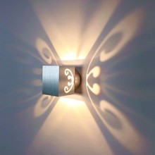 Indoor led wall light 3W aluminum sconce Modern decorative lamp