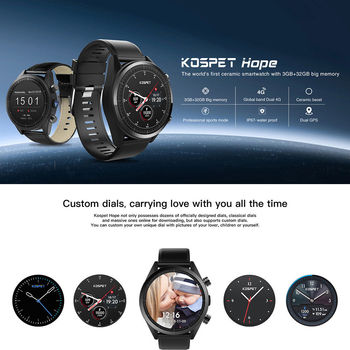 Hot 3G+32G 4G-LTE SmWatch 1.39' AMOLED WIFI GPS/GLONASS 8MP Android7.1.1 Men Smart Watches