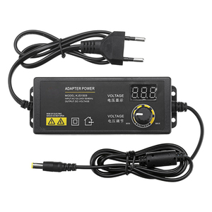 Image 5 - LEORY Универсальный светодиодный адаптер питания, 3 24 В, 1,5 А, с регулируемым напряжением, вилка стандарта ЕС и США