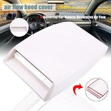 1 PC Mobil Styling Aliran Udara Masuk Sendok Belahan Sisi Dekoratif  Universal Tur-Bo Bonnet Vent Cover Stiker Mobil aksesoris Ek.. 99bf19a01a