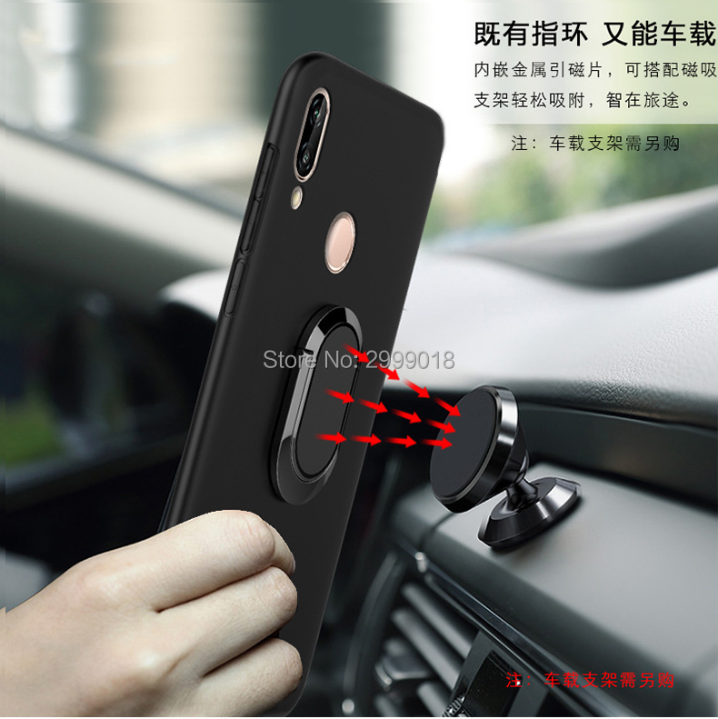US $4 69 |For Vivo Y95 Y91 Cover Magnetic Magnet Car Finger Ring Case For  Vivo Y95 Y91 Y91i V1807 Y 95 91 i VivoY91 VivoY95 Case-in Fitted Cases from