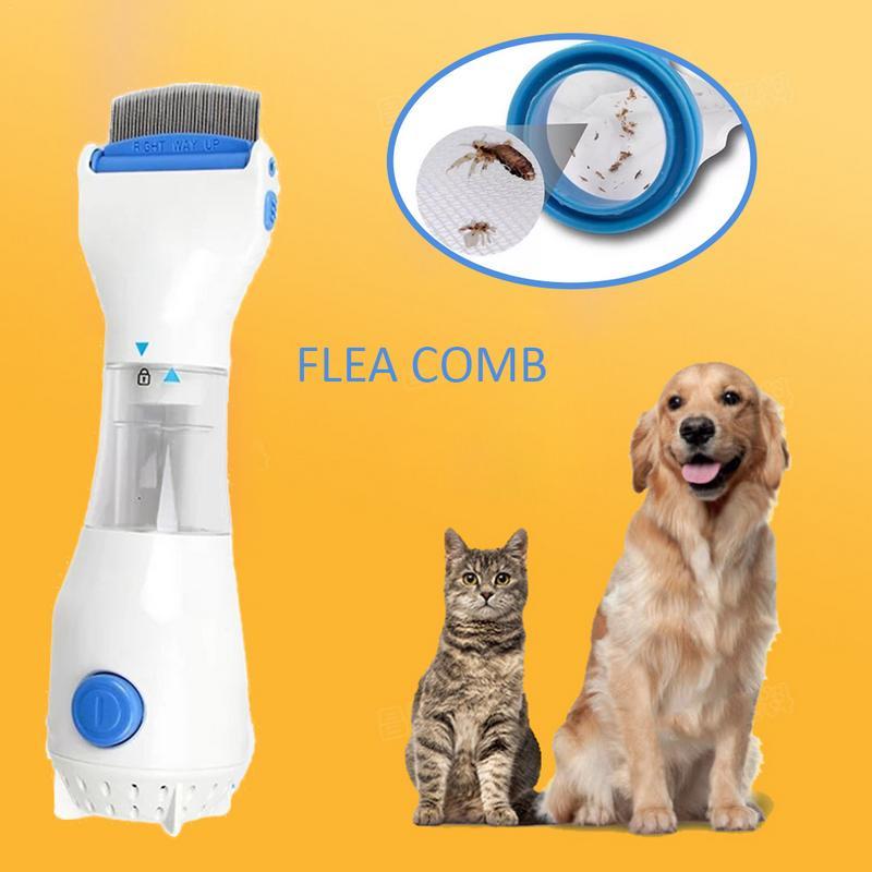 Pet Elektrische Läuse Entfernung Kamm 220 v Läuse Terminator Anti Floh Läuse Reiniger Reinigung Haar Gerät für Hunde Pet Pflege liefert