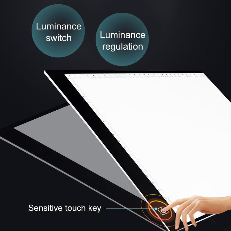 Tablet Lcds & Panels Sensible Chipal A4 Digital Tablet Led Drawing Panel Light Box Tracing Copy Board Copyboard Acrylic Graphic Art Painting Writing Table Pad Tablet Accessories