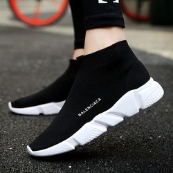 Hot Selling Men Fashion Boots High Quality Comfortable Breathable Light Unisex Shoes Popular Youth Men High Top Ankle Boots